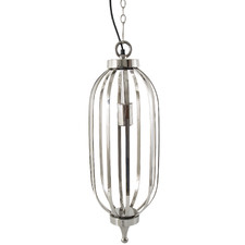 Cotton House Nickel Pendant Light