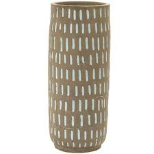 Tan Sahara Ceramic Vase