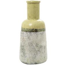 Lime Green Citron Decorative Ceramic Carafe