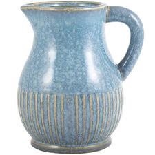 Denim Ceramic Decorative Jug