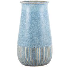 Denim Vintage-Style Ceramic Vase