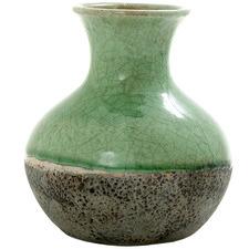 Green Verde Ceramic Vase