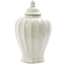 White Vanilija Ceramic Jar