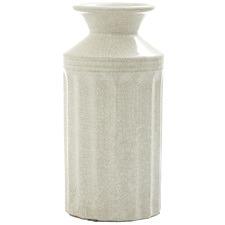 White Vanilija Ceramic Vase