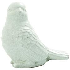 Esmeralda Ceramic Bird Ornament