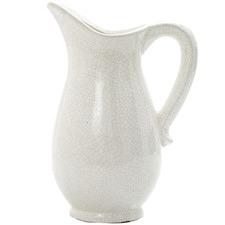 White Vanilija Ceramic Decorative Jug
