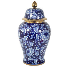 Imperial Porcelain Jar with Lid