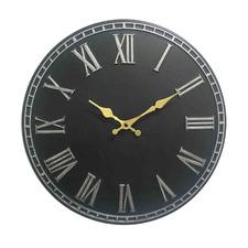 40cm Grey Thompson Stone Wall Clock
