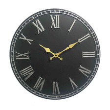 Grey Thompson Stone Wall Clock