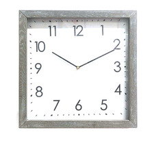 40cm Admiral Wooden Table Clock