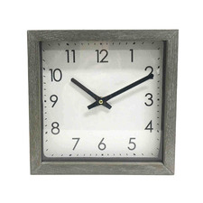 25cm Admiral Wooden Table Clock