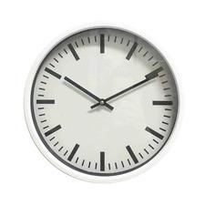 White Roche Wall Clock