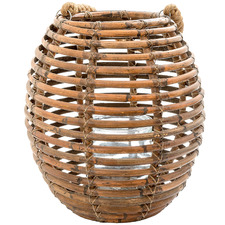 Natural Castilla Rattan Lantern