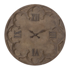 79cm Antique Brown Diego Wall Clock