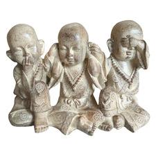 Trio Of Monks Figurine