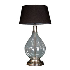 Nero Glass Table Lamp Base