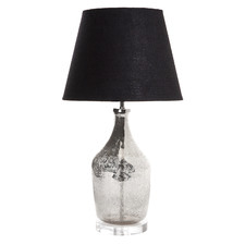 Small Fortuna Glass Table Lamp Base