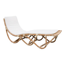 Haiti Rattan Outdoor Sun Lounge