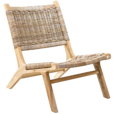 Natural Cancun Rattan Chair