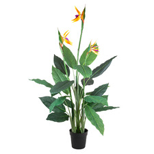 150cm Potted Faux Bird Of Paradise Tree
