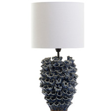Blue Londolozi Ceramic Table Lamp