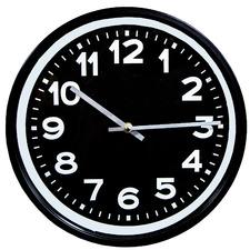 Black Hunter Metal Wall Clock