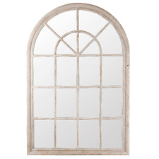Arched Hamptons Mirror