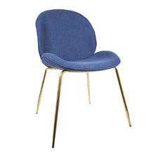 Luxe Velvet Beetle Dining Chair