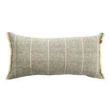 Wild Stripe Recycled Brushed Cotton Cushion