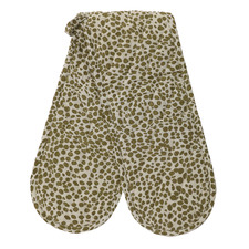 Animal Print Recycled Cotton Oven Gloves (Set of 2)