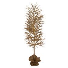 150cm Light Up Crystal Faux Coral Christmas Tree