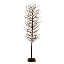 Black 120cm Light Up Faux Branch Christmas Tree