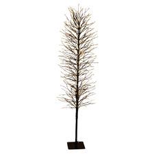 Black 150cm Light Up Faux Branch Christmas Tree