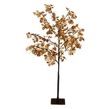 Gold 120cm Lunaria Light Up Honesty Christmas Tree