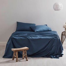300TC Indigo Sheet Set