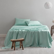 300TC Duckegg Blue Sheet Set