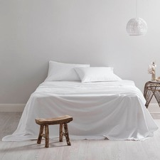 300TC White Sheet Set