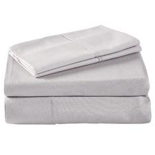 Silver 1000TC Cotton Sheet Set