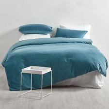 Denim Cotton Velvet Quilt Cover Set