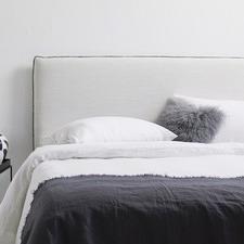 White Vintage Wash Pure Linen Quilt Cover Set