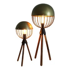 Jamie Durie Gold Sputnik Lamp Large