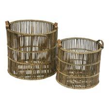 Watercandy Round Baskets (Set of 2)