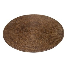 Rattan Large Round Placemats