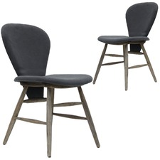 Charcoal Eleganz Chairs (Set of 2)