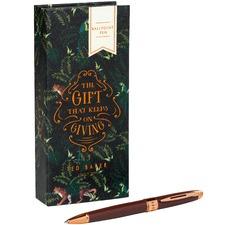 Walnut Brown & Copper Pen