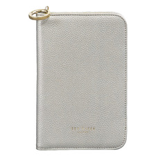 Silver Faux Leather Travel Organiser