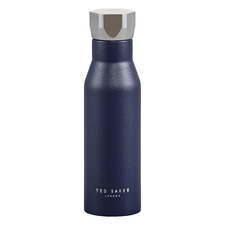 425ml Navy Stainless Steel Water Bottle