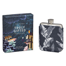 350ml Ted's World Stainless Steel Hip Flask