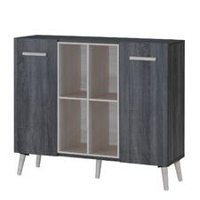 Sonoma Grey Oak Multi Function Cabinet