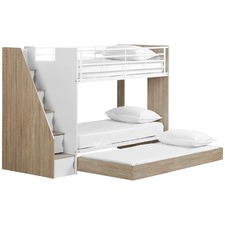 Cruz Trio Single Bunk Bed & Cabinets